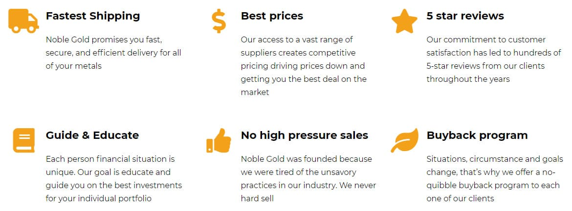 Why Choose Noble Gold?